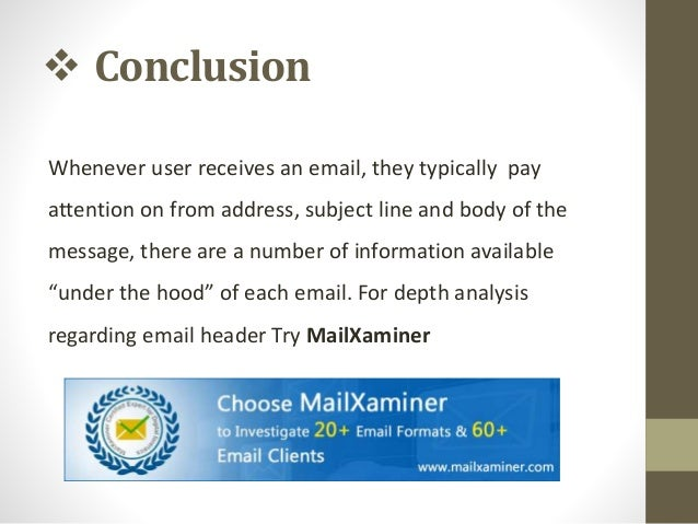 What is Email Header - Understanding Email Anatomy