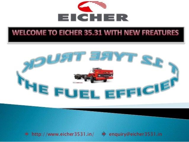 http://www.eicher3531.in/ enquiry@eicher3531.in