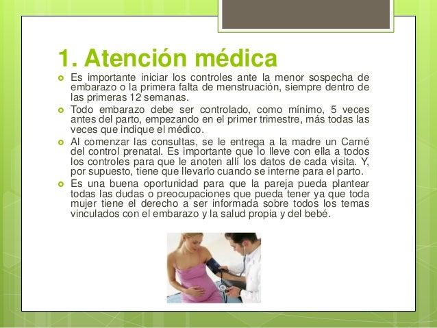 Prevención y cuidados durante el embarazo Slide 3