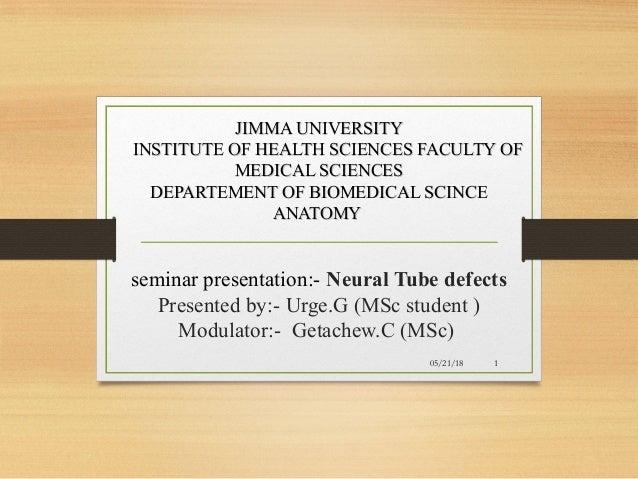 JIMMA UNIVERSITYJIMMA UNIVERSITY INSTITUTE OF HEALTH SCIENCES FACULTY OFINSTITUTE OF HEALTH SCIENCES FACULTY OF MEDICAL SC...