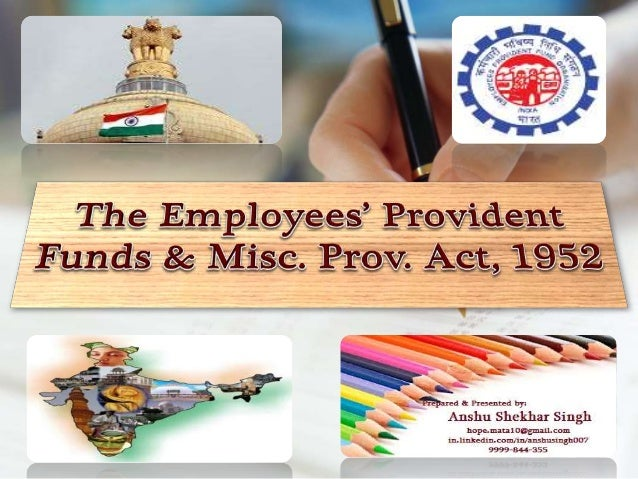 Mission Statement: The Mission of EPFO, is to extend the reach and quality of publicly managed Old Age income security pro...