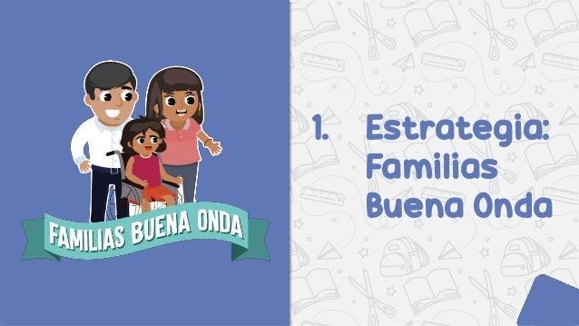 Estrategia Familias Buena Onda    Slide 2