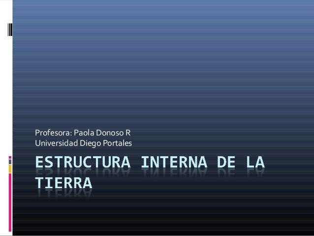 Profesora: Paola Donoso RUniversidad Diego Portales