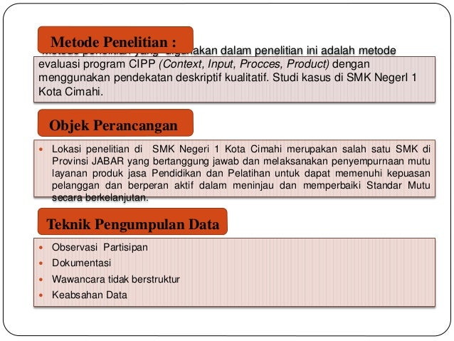 Download Contoh Evaluasi Program Cipp Linoaaffiliates