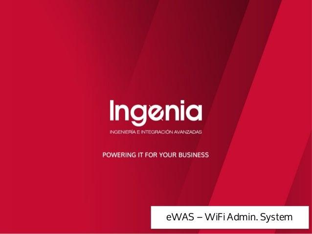 eWAS – WiFi Admin. System