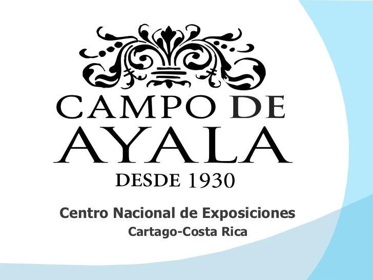 Centro Nacional de Exposiciones  Cartago-Costa Rica