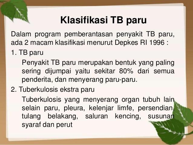 Pengelolaan DM tipe II yang disertai TB paru BTA positif