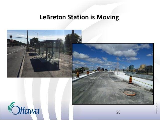 Ottawa Fall Construction Season 2016