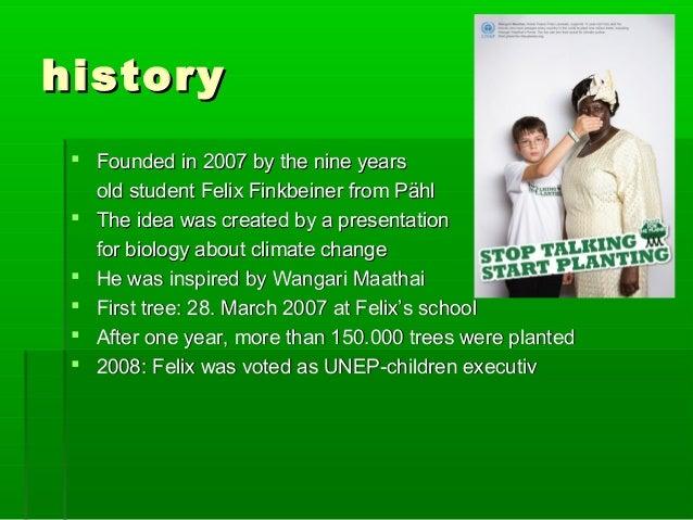 ppt felix finkbeiner plant for the planet. Black Bedroom Furniture Sets. Home Design Ideas