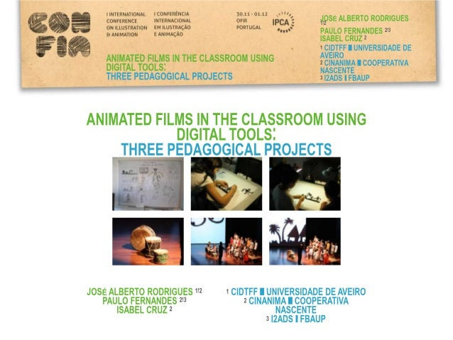 INTRODUCTION  In this communication we try to explore the possibilities of introducing  animation, a working pedagogical p...