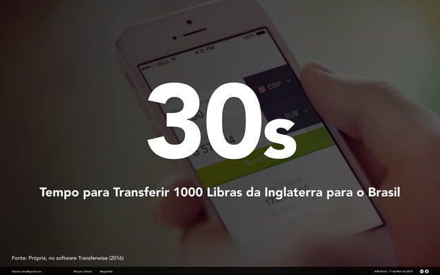 30s fabricio.dore@gmail.com Tempo para Transferir 1000 Libras da Inglaterra para o Brasil AIM Brasil - 11 de Maio de 2016#...
