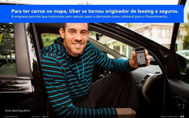 fabricio.dore@gmail.com AIM Brasil - 11 de Maio de 2016#future_fintech @superfab Para ter carros no mapa, Uber se tornou o...