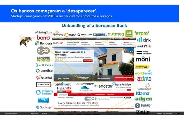 Os bancos começaram e desaparecer. Parecia o fim.Os bancos começaram a 'desaparecer'. Startups começaram em 2010 a recriar ...