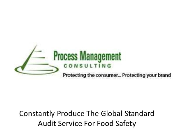 Constantly Produce The Global Standard Audit Service For Food Safety