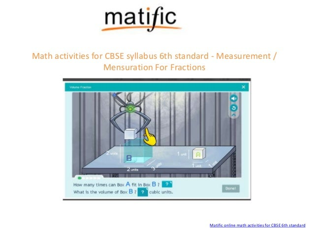 cbse math games for 6th standard from matific. Black Bedroom Furniture Sets. Home Design Ideas