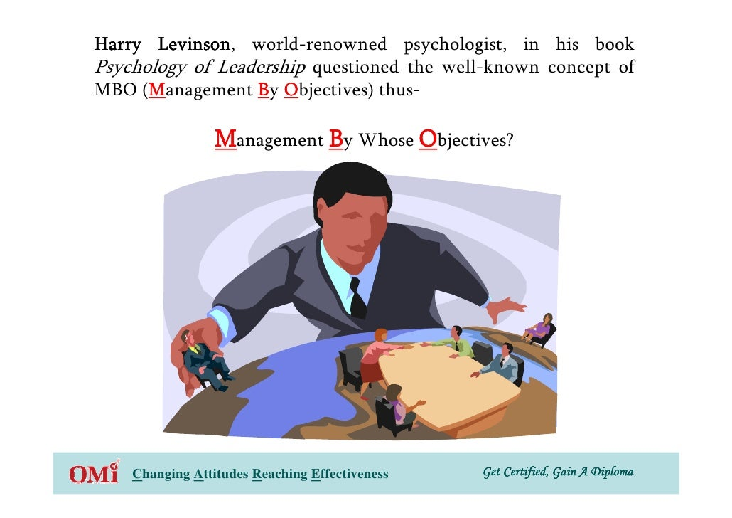 Harry Levinson world-renowned psychologist, in his book        Levinson, Psychology of Leadership questioned the well-know...