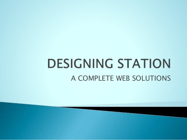 A COMPLETE WEB SOLUTIONS