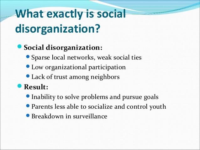 essays on social disorganization theory cf essays on social disorganization theory