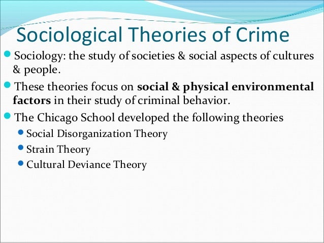 strain theory and gangs Gangs & sub-cultural theories  in strain theory, people become members of gangs and commit gang violence as a result of residing in a society.