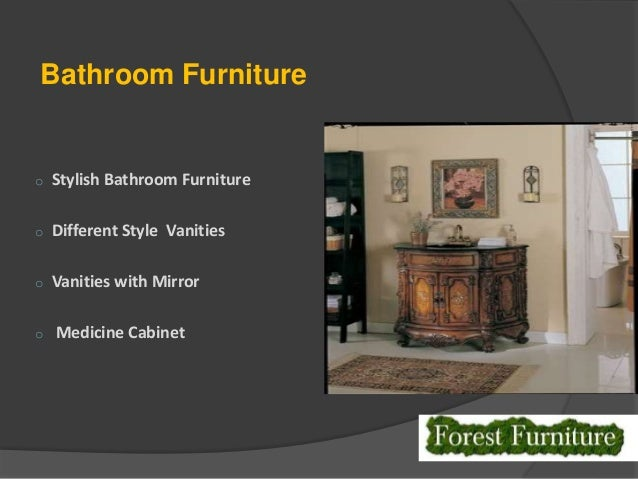 ... 7. Bathroom Furniture ...