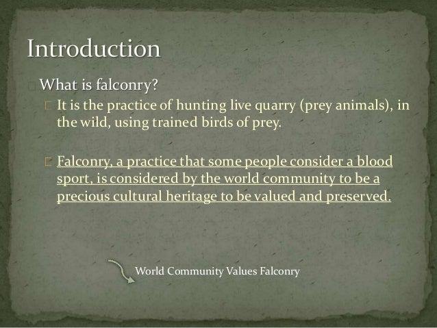 informative speech on hunting