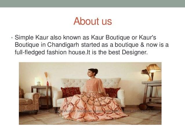 Kaur's Boutique chandigarh   Kaur boutique Chandigarh