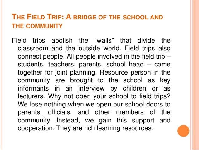 school trip essay