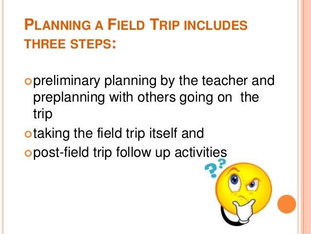 planning a field trip essay