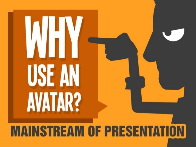 How to make an effective presentation with comic avatar?