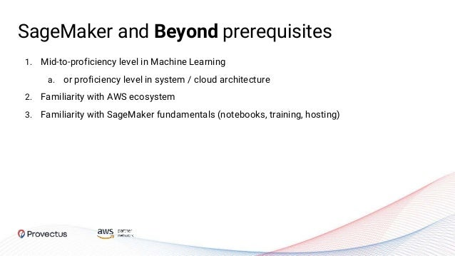 1. Mid-to-proficiency level in Machine Learning a. or proficiency level in system / cloud architecture 2. Familiarity with...