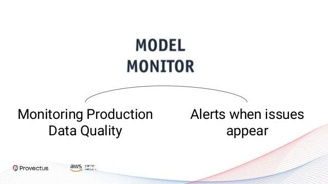 SageMaker Model Monitoring Goal Training Data Production Data