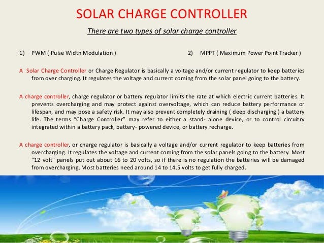 E-SHARP - SOLAR CHARGE CONTROLLER SERIES ( PWM / MPPT )