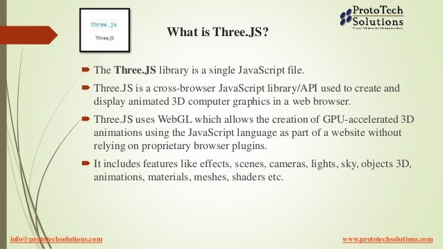 Three JS Development