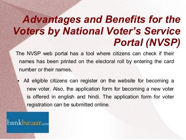 Get brief details on Voter ID
