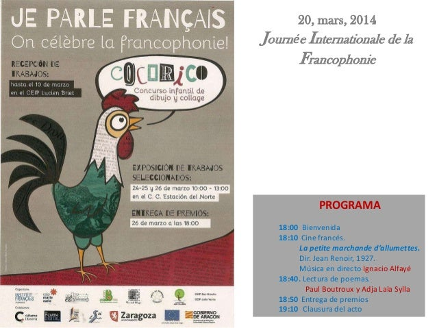 PROGRAMA 18:00 Bienvenida 18:10 Cine francés. La petite marchande d'allumettes. Dir. Jean Renoir, 1927. Música en directo ...