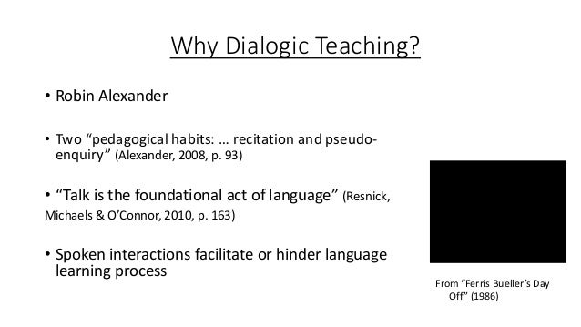 Towards a more dialogic approach with a class of young adult refugee learners in an adult migrant English program. Slide 3