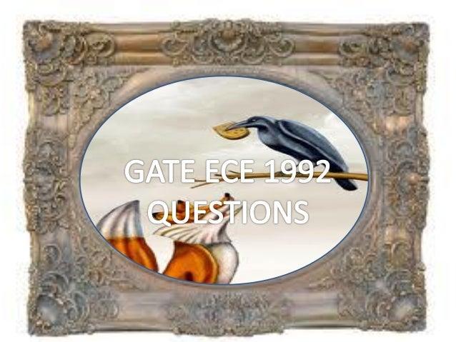 Pptgateece1992questions