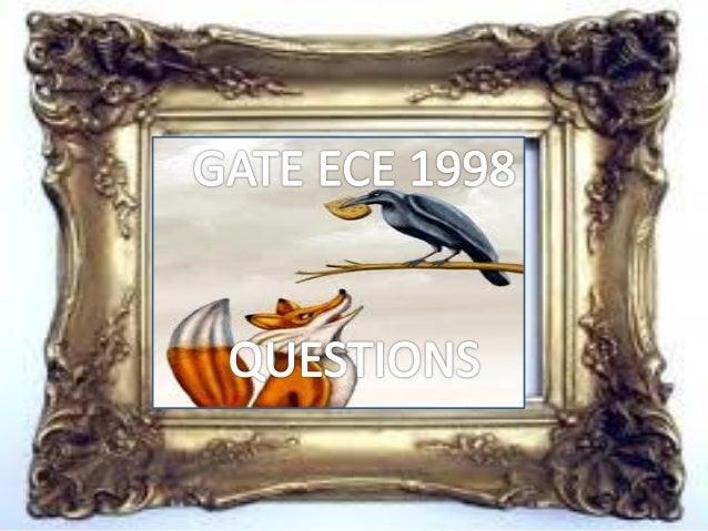 Pptgateece1998questions