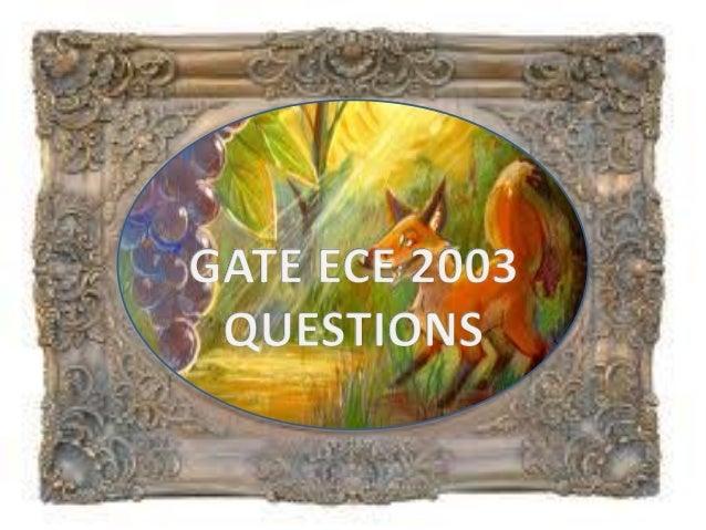 Pptgateece2003questions