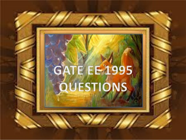 Pptgateeee1995questions