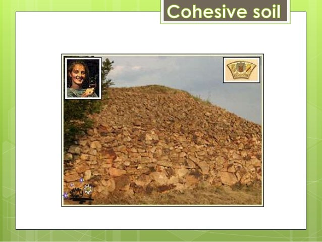 Types of soil for Soil is composed of