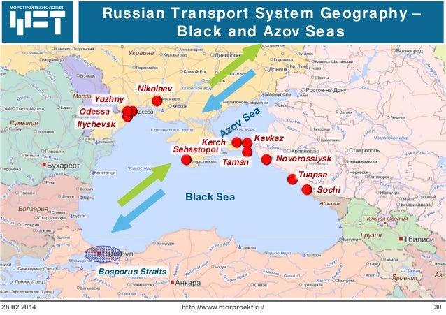 Development Of The Russian Sea Port Infrastructure Automotive Logist\u2026: Novorossiysk Port Russia Map At Infoasik.co