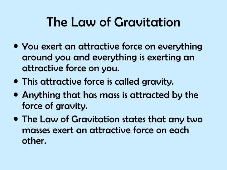 Ppt Gravity Slide 2