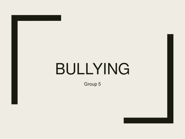 bully bahasa inggris 1 5