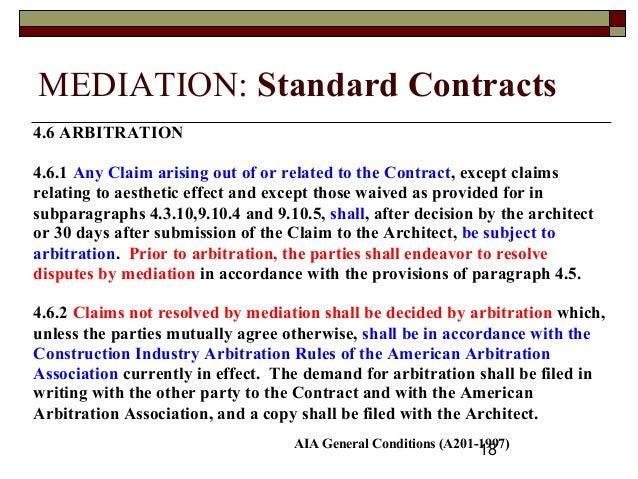 Option strategy arbitration award