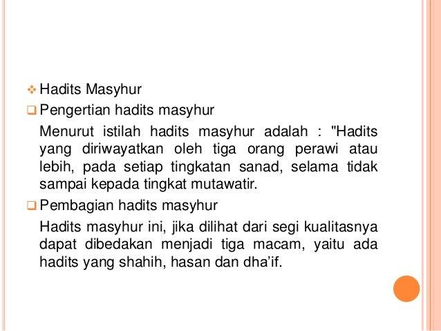 Muqarrabin Blogspot Ilmu Mustholah Hadith
