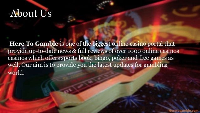 Casino gambling portal internet casino sport gambling addiction south carolina