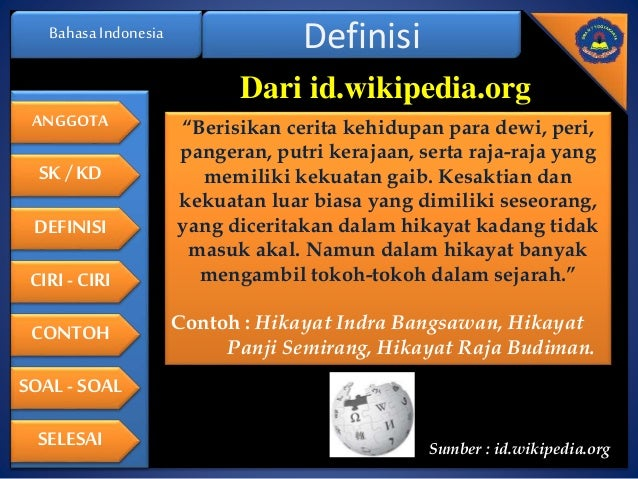 Image Result For Cerita Hikayat Klasik