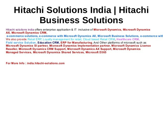 Hitachi Solutions Geographical Information System| Hitachi Solutions