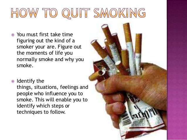 Ways To Quite Smoking